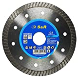S&R Disco Diamante 125 mm para corte de Porcelanico,...