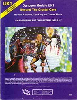 Beyond the Crystal Cave (Advanced Dungeons & Dragons Module UK1) - Book  of the Advanced Dungeons and Dragons Module #C4