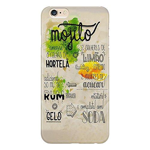 Funda Mojito Cocktail Drink Mix Misture Alcol Fruit Alcholic Alcolico Bar Lemon compatible con iPhone 4/4S/5/5S/5SE/5C/6/6S/6plus/6s Plus Samsung S3/S3neo/S4/S4mini/S5/S5mini/S6/Note
