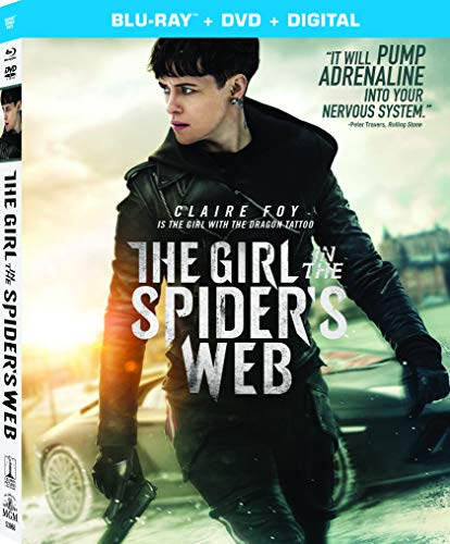 The Girl in the Spider's Web: A New Dragon Tattoo Story [Blu-ray]