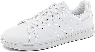 HILOTU Zapatillas De Deporte De Moda para Hombres Zapatillas Ligeras De Ocio Ancho Ancho Anchas Transpirables (Color : White Sliver, tamaño : 39 EU)