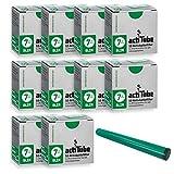 actiTube kogu Set Slim Aktivkohlefilter, 7,1 mm, 500 Stück, 10 Packungen mit je 50 Filtertips - inkl. J-Hülle