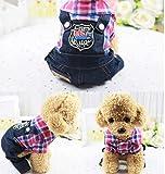 YAMEIJIA Pet Quad Kleidung, Marine Herbst Und Winter Modelle, Größe Hund Kleidung, XS-XXL,B,L