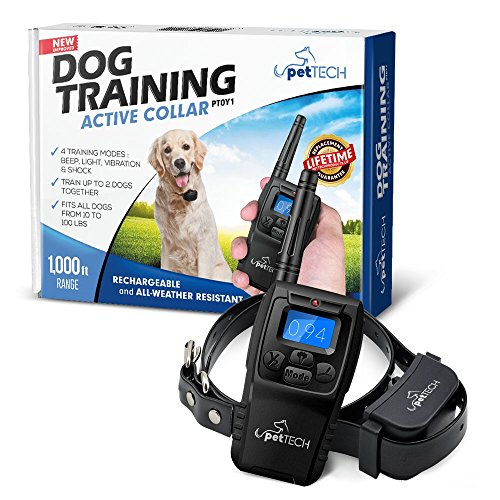 PetTech Remote Controlled Dog Training Collar
