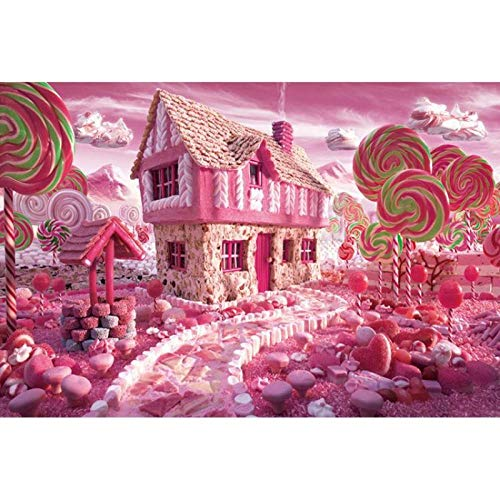 Puzzle Pieces Adult Wooden Large Block Children Toy Girl Highly Difficult Cartoon Woodwork Picture  Pieces Of Wood In The Candy House 1000 Tablets Frameless