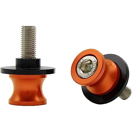 Universal Cnc Aluminium Ständeraufnahme M10 1 25 Bobbins Montageständer Für Duke Rc 125 200 390 Zx6r Zx10r Z750 Z1000 Z1000sx Er6n Er6f Ninja 250 300 Orange Auto