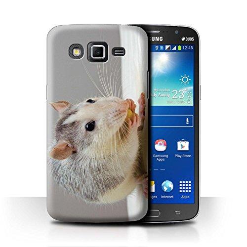 eSwish Carcasa/Funda Dura para el Samsung Galaxy Grand 2/G7102 / Serie: Lindos Animales de Compañía - Rata