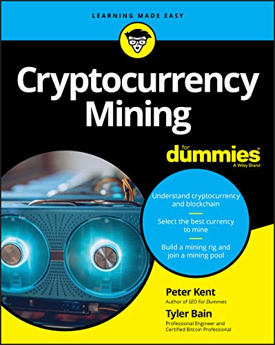 Cryptocurrency Mining For Dummies Cover
