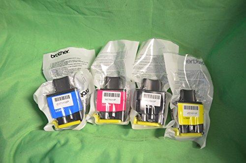 Original Komplettsatz Brother LC900 LC-900 Druckerpatrone CMYK Tintensatz LC900: Cyanblau, Magenta, Gelb und Schwarz Patronen für DCP-115C, DCP-120C, DCP-315CN, DCP-340CW FAX-1840C, FAX-1940CN, FAX-2440C MFC-215C, MFC-3240C, MFC-3340CN, MFC-425CN, MFC-5440CN, MFC-5840CN, MFC-620CN, MFC-640CW, MFC-820CW