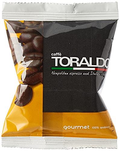 Caffè Toraldo Gourmet Capsules Compatibili con 'A Modo Mio' 100 Capsules
