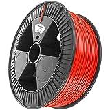 Minadax 2,3kg Premium Qualitaet 1,75mm PLA-Filament rot Fuer 3D-Drucker