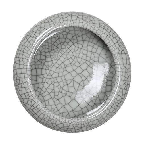 Asbak Ash Trays meloen schil schaal huishoudelijke keramische ronde