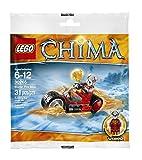 LEGO CHIMA WORRIZ' FIRE BIKE - POLYBAG 30265