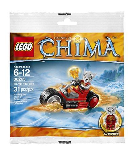 LEGO Worriz Feuer Bike Legends of Chima 30265