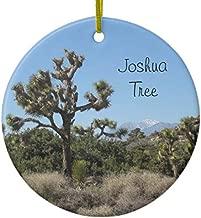 Joshua Tree View Ceramic Ornament