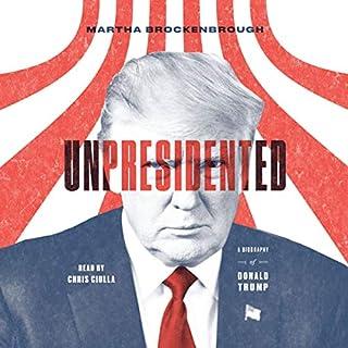 Unpresidented audiobook cover art