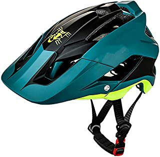 gdangel Bicicleta Casco Casco Mountain Bike Hombres Bicicleta Casco MTB Ultralight Casco De Carretera Integ-Moldeado Ciclo Cross BMX Casco De Ciclismo