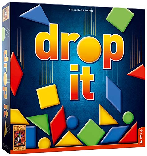 999 Games 999-Dro01 Drop It Bordspel Bordspel, Multikleur