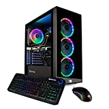 iBUYPOWER Pro Gaming PC Computer Desktop Element MR 9320 (Intel i7-10700F 2.9GHz, NVIDIA GTX 1660 Ti 6GB, 16GB DDR4 RAM, 240GB SSD, 1TB HDD, WiFi Ready, Windows 10 Home)