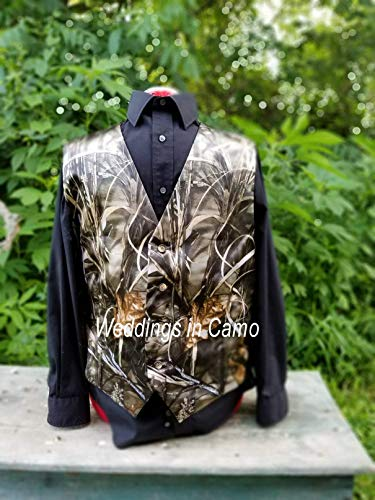 MEN'S CAMO VEST camo wedding vest