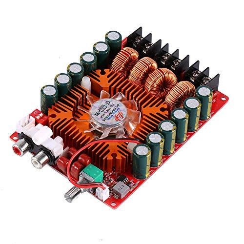 TDA7498 Digitale vermogensversterker, dual-channel digitale audio stereo-powerversterker board, ondersteunt de BTL-modus, voor auto-voertuig-computerluidsprekers DIY, 2 x 160 W, DC 15-36 V
