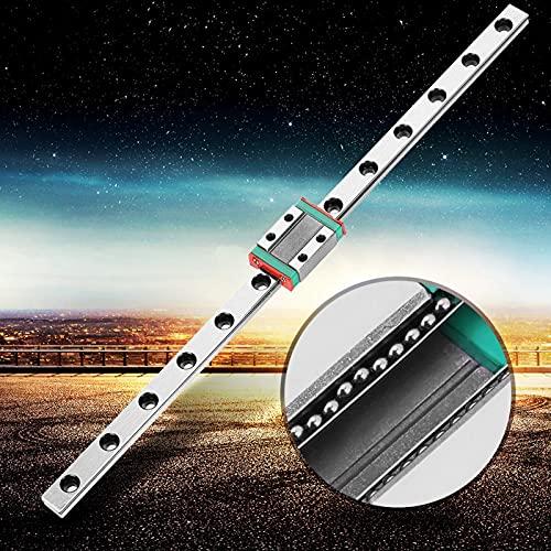 LML9B - Riel lineal de 9 mm de ancho + riel deslizante lineal sensible para equipos automáticos (260)