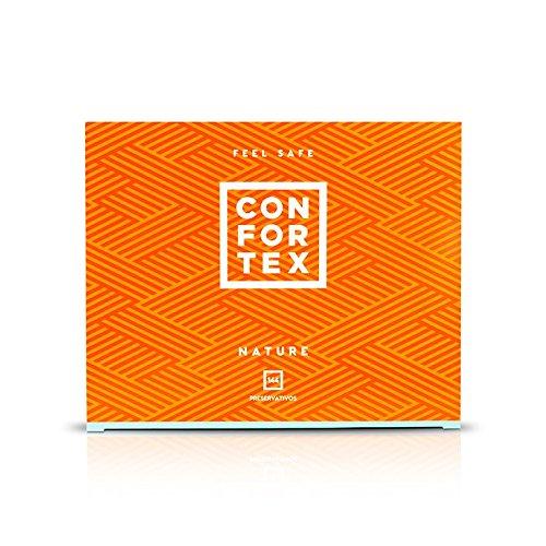 144 Preservativos Confortex Natural
