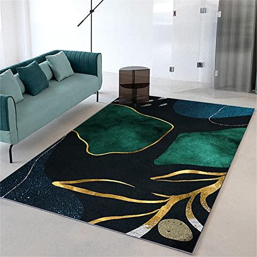 alfombras Modernas de Salon Alfombra Azul, bebé Que gatea sin desteñir, Alfombra...