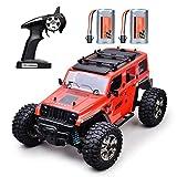 RC Automóviles Coche Off-Road Teledirigido Radio 4WD 2,4Ghz Coche Eléctrico RC Rock Racer Escala 1/14 RTR Juguete de Interés Camiones de Control Remoto Monstruo de Carreras de Alta Velocidad