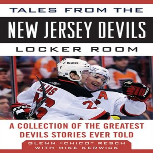 Tales from the New Jersey Devils Locker Room audiobook cover art