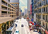 CALVENDO San Francisco Metropole in Kalifornien, Poster DIN