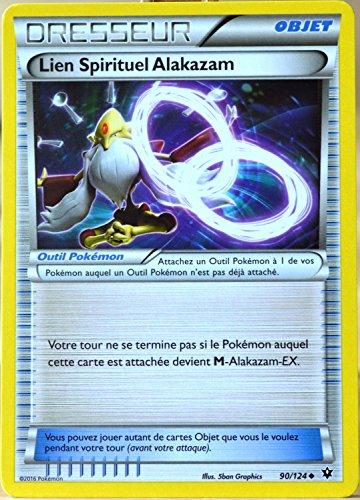 carte Pokémon 90/124 Lien Spirituel Alakazam XY - Impact des Destins