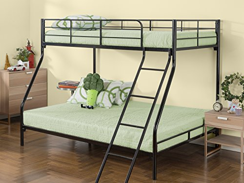Zinus Hani Easy Assembly Quick Lock Metal Bunk Bed / Quick To Assemble in Under...