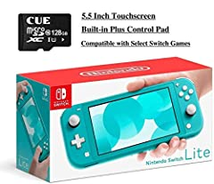 【Compact and lightweight】 The Nintendo Switch Lite is designed specifically for handheld play. With its light, sleek design, this system is ready to hit the road whenever you are. ** Please Note **: This is a handheld unit. It can not connect to TV 【...