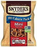 Snyder's Mini Pretzels, 100 Calorie, 0.92 oz, 36 Count