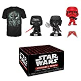 Funko Star Wars Smuggler's Bounty Subscription Box, Forces of Darkness, October 2019, Small T-Shirt