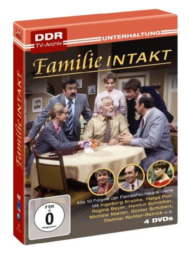 Familie Intakt - DDR TV-Archiv (4 DVDs)