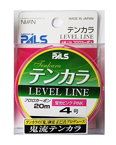 宇崎日新 テンカラライン 鬼流テンカラライン 20m 4号 ピンク