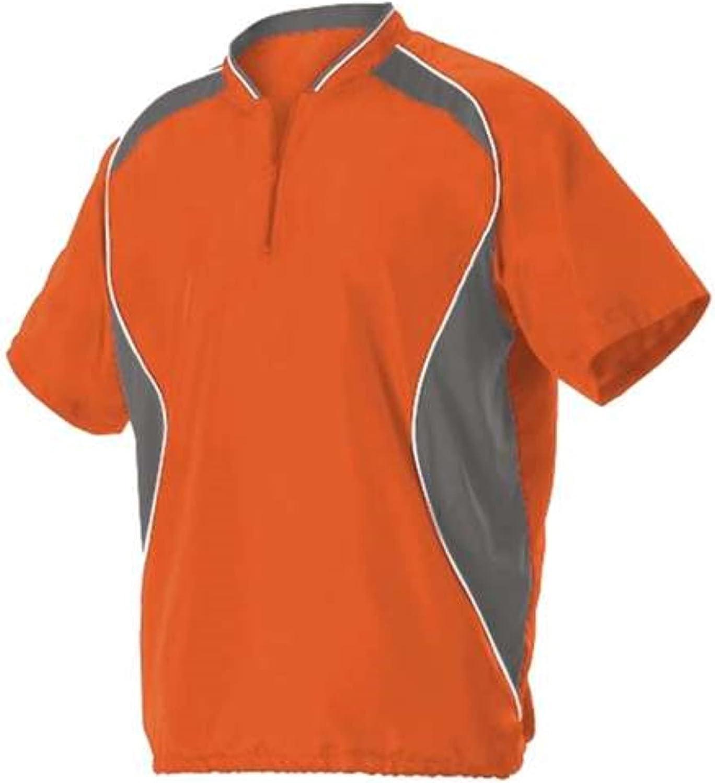 Alleson Men's 2021 autumn and winter new Award Short Sleeve Jacket Baseball Batter's