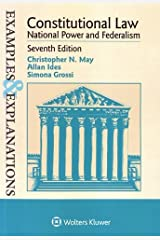 Constitutional Law, National Power and Federalism (Examples & Explanations) Paperback