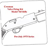 BP Crosman 760 Air Rifle Pre-July 1975 Series TUNE-UP VALVE O-RING SEAL KIT
