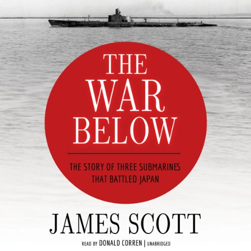 The War Below audiobook cover art