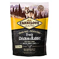 Carnilove Canine Adult Fresh Chicken Rabbit Joints 1.5 kg. The best products for your pet. Keeping your pet grow healthy and strong has never been easier. Country of origin:- Spain