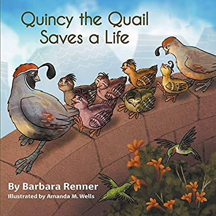 Quincy the Quail Saves a Life
