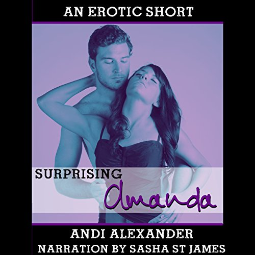 Surprising Amanda audiobook cover art