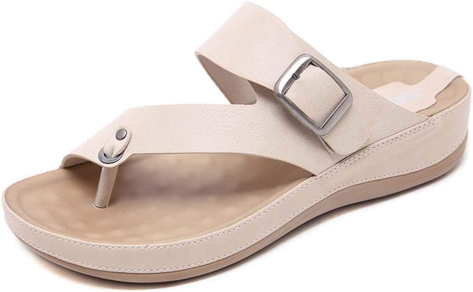 LTLGHY Orthotic Sandals Women Tampa Mall Buckle fo Slides with Arch Support Gorgeous