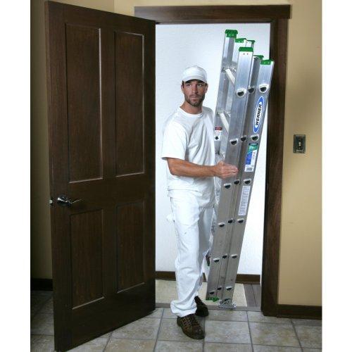 Werner D1216-3 16' Alum Comp Ext Ladder