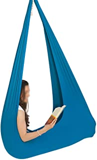 Creation Core Indoor Therapy Swing for Kids with Special Needs Sensory Integration Snuggle Swing Cuddle Hammock for Children with Autism ADHD Aspergers Hardware Included
