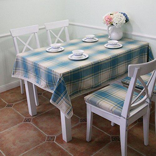 American Country Stoffen / bloementuin koffie tafel Cloth/ geruit tafelkleed/afdekdoek/tafelkleed 140x240cm(55x94inch) A