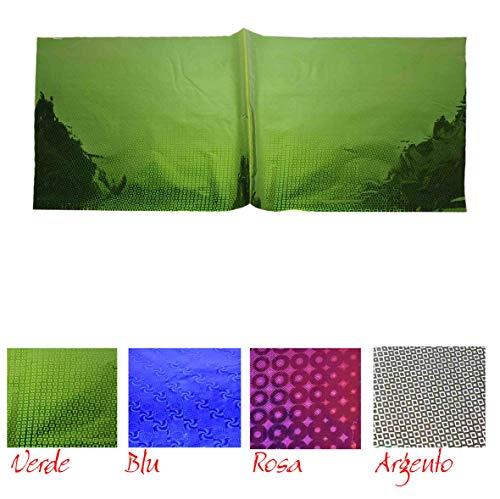 M2 Geschenkpapier, Hologramm 50 x 70 cm, 4 Farben